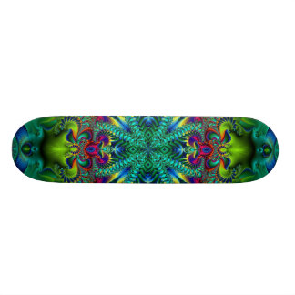 Psychedelicized Custom Skate Board