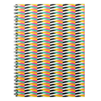 Psychedellic Chevrons Notebook