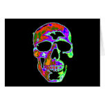 Psychedellic Skull Cards