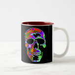 Psychedellic Skull Coffee Mugs