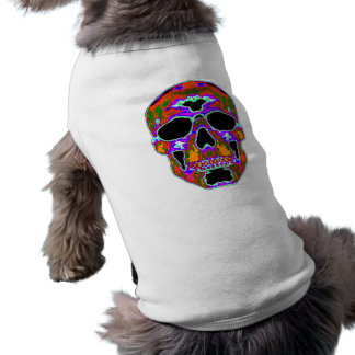 Psychedellic Skull Dog Clothes