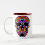 Psychedellic Skull Mugs