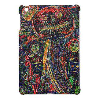 Psychedlic Children Ghost Jack O' Lantern Pumpkin iPad Mini Cover