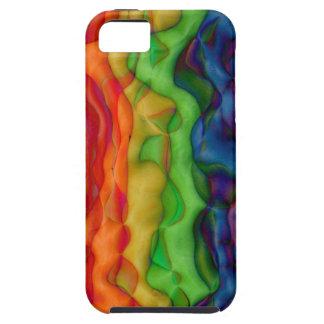 Psychedlic Hippy Rainbow Acid Trip Tough iPhone 5 Case