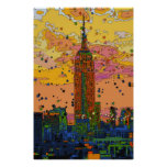 Psychedlic NYC: Empire State Building #1