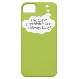 Psychiatric Line custom color iPhone case