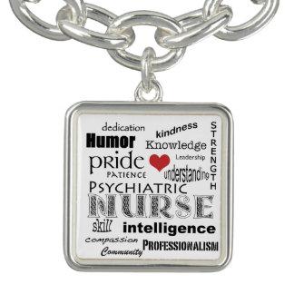Psychiatric Nurse Pride-Attributes+Red Heart