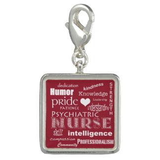 Psychiatric Nurse Pride-Attributes+White Heart