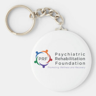 Psychiatric Rehabilitation Foundation Basic Round Button Key Ring