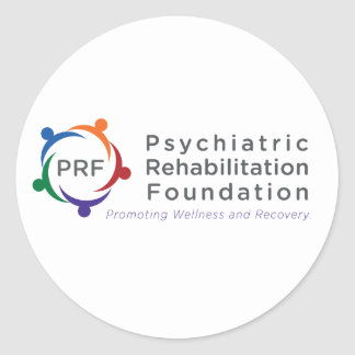 Psychiatric Rehabilitation Foundation Round Sticker