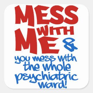 PSYCHIATRIC WARD stickers