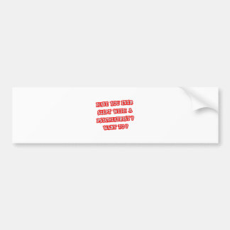 Psychiatrist Pick-Up Line Bumper Sticker