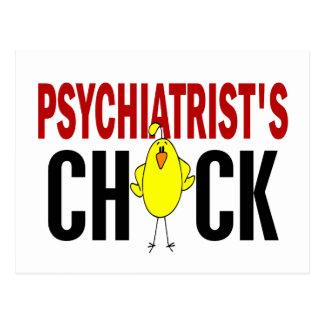 PSYCHIATRIST'S CHICK POSTCARD