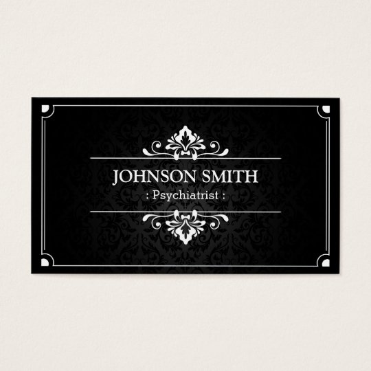 Psychiatrist - Shadow of Damask Business Card