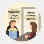 Psychiatrist Wants to Kill Patient Sticker