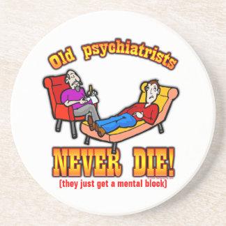 Psychiatrists Drink Coaster