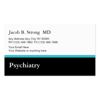 Psychiatry Business Card Template