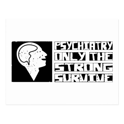 Psychiatry Survive Postcards