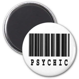 psychic barcode design magnets