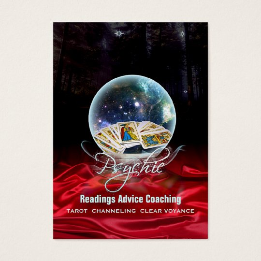 PSYCHIC - Business-, Profile-, Schedule Card