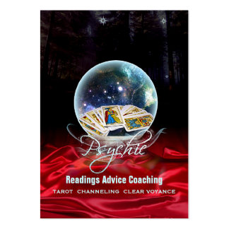 PSYCHIC - Business-, Profile-, Schedule Card Pack Of Chubby Business Cards