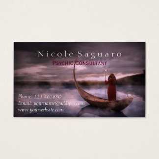 Psychic Consultant Business Card