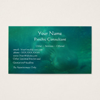 Psychic Consultant - business card template