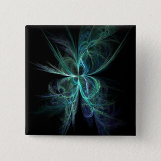 Psychic Energy Fractal 15 Cm Square Badge