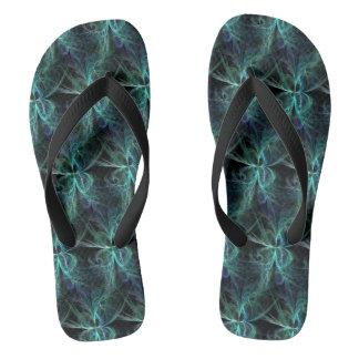 Psychic Energy Fractal Flip Flops