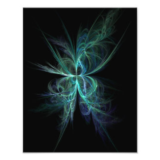 Psychic Energy Fractal Photo Print