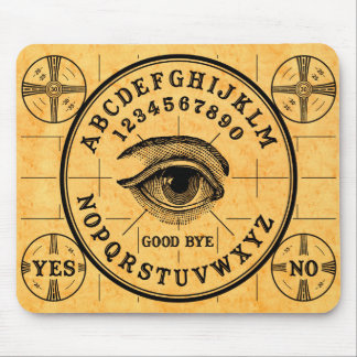 Psychic Eye Talking Board Mousepad