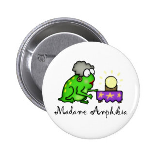 Psychic Frog Pinback Buttons