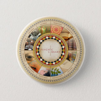 Psychic Library 6 Cm Round Badge