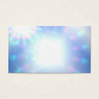 Psychic Light Worker Abstract Business Cards