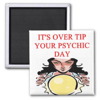 psychic new ge joke refrigerator magnet
