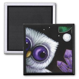 PSYCHIC OWL AMETHYST Magnet