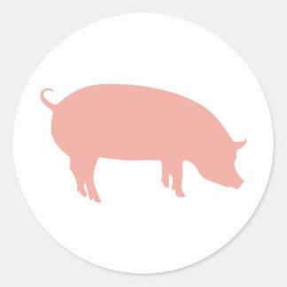 Psychic Pig Euro 2012 Round Sticker