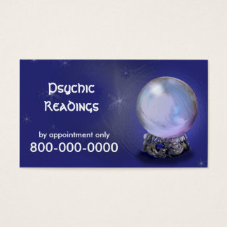PSYCHIC Readings Business Card
