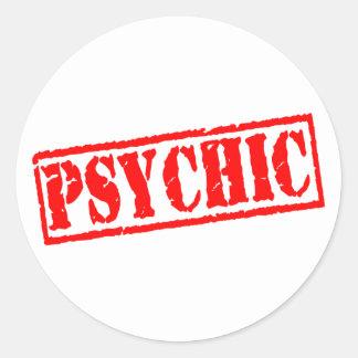 Psychic Round Sticker