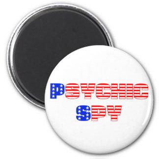 Psychic Spy 6 Cm Round Magnet
