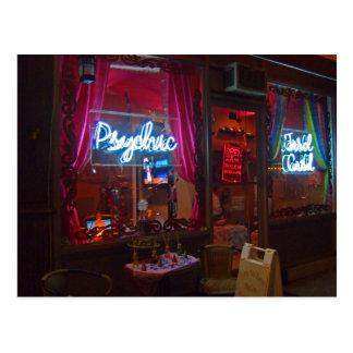 Psychic Storefront Postcard