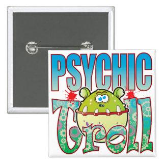 Psychic Troll 15 Cm Square Badge