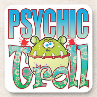 Psychic Troll Beverage Coasters