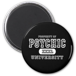 Psychic University Dark Fridge Magnet