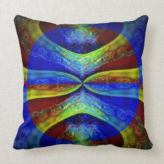 Psychic Yoga Throw Pillow
