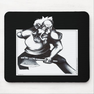 Psycho Axeman Mouse Pad