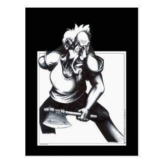 Psycho Axeman Postcard