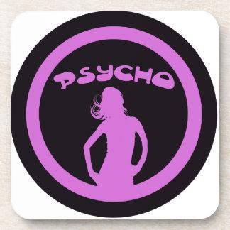 Psycho Babe Coasters