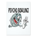 Psycho Bowling Personalised Announcement