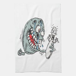 Psycho Bowling Tea Towel
